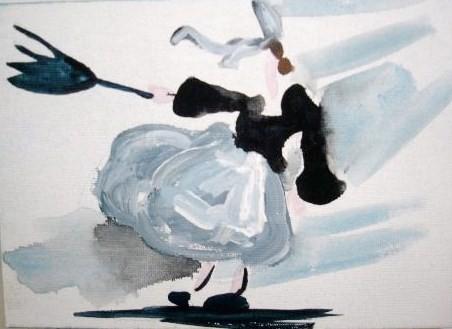 acrylique sur toile (18/13) (vendu)