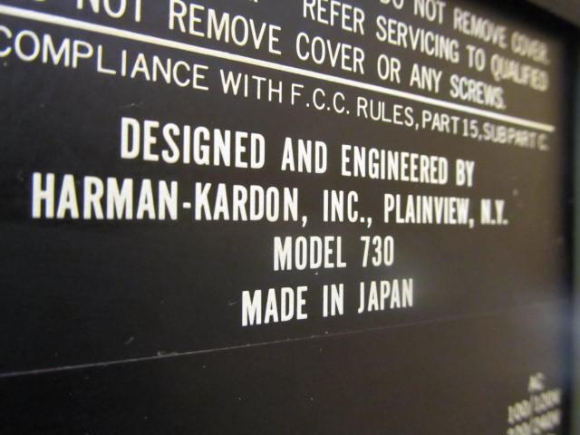 Harman/Kardon 730