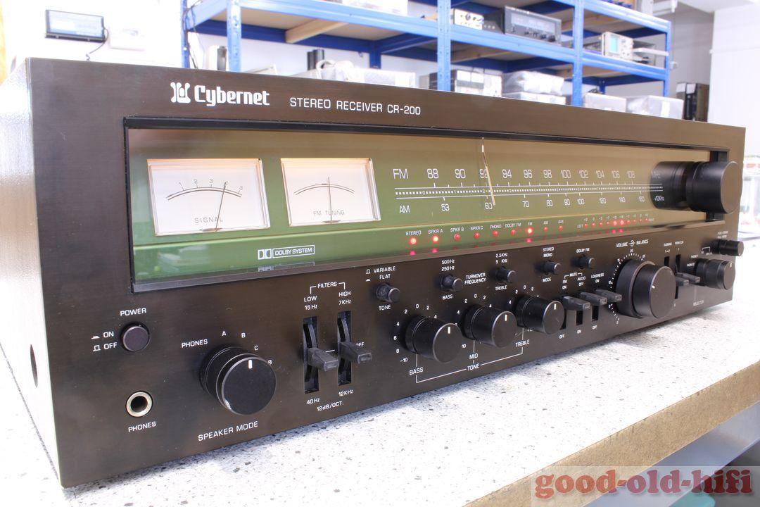 Cybernet CR-200 - Ein Receiver von 1978