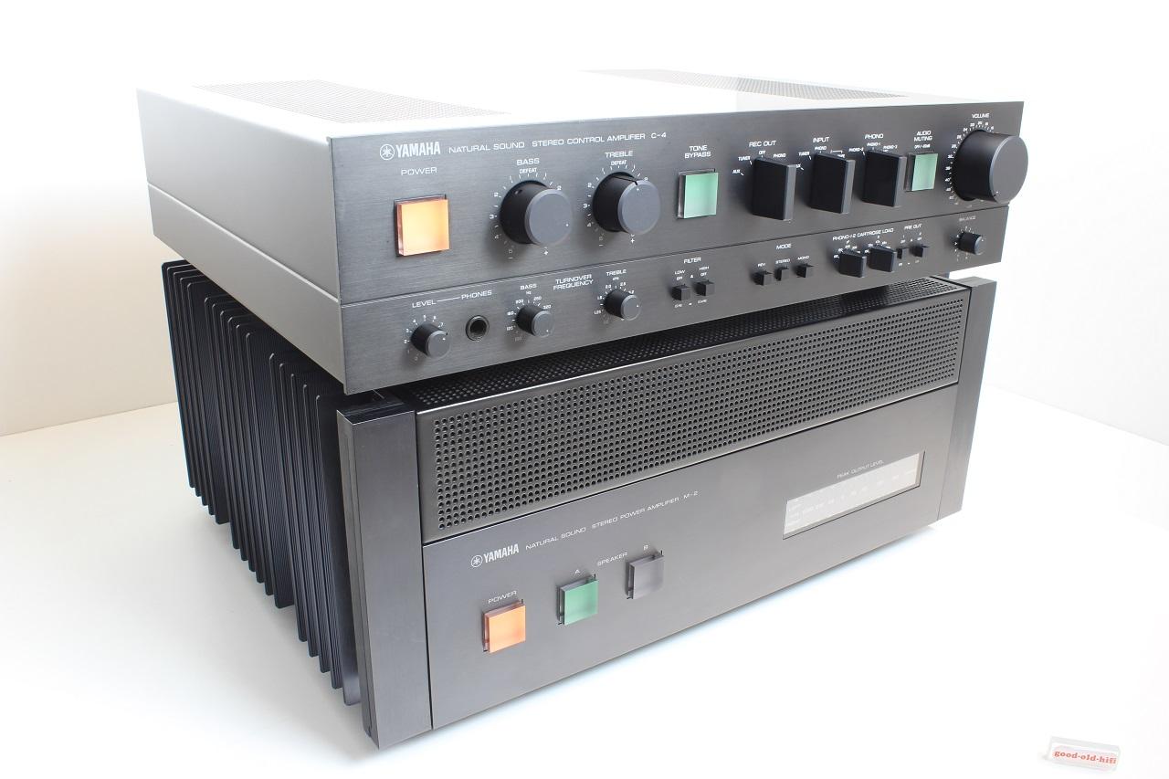 Yamaha C-4 und M-2