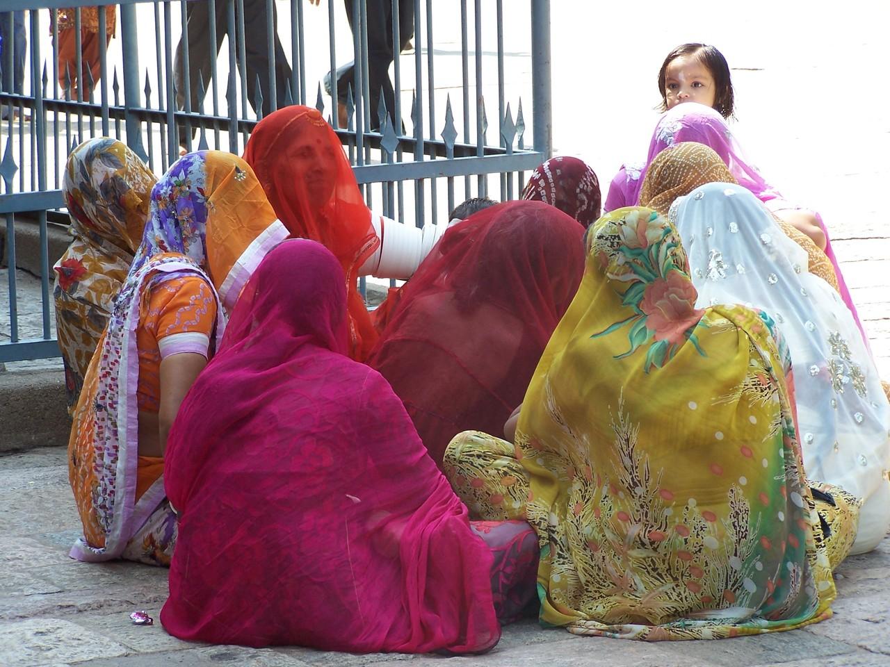 Femmes , Madurai INDE 2012
