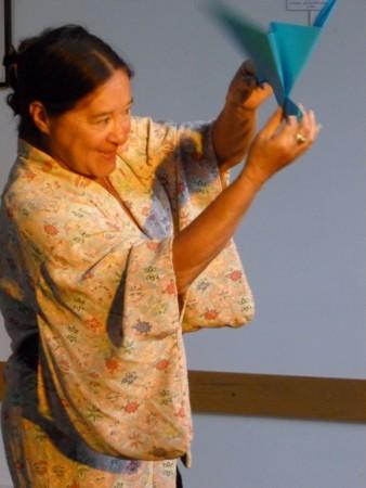 Tsukimi- Pliage de l'oiseau