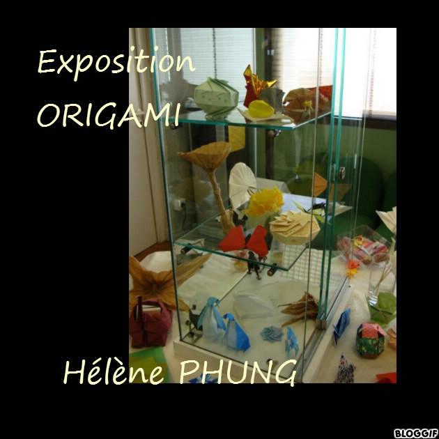 Exposition d'origami St Priest en Forez (42)
