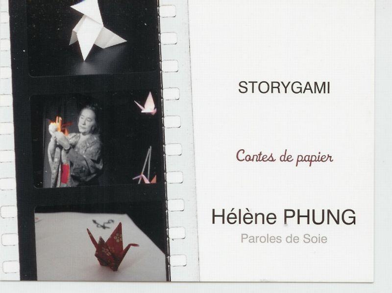STORYGAMI, contes de papier. Conté/ chanté