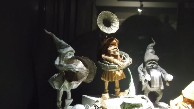 """Musée du papier d' Angoulême """"Eric Joisel, le magicien"""" Soirée clôture 2 CONTES en ORIGAMI H PHUNG"""