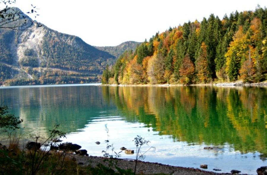 Im Herbst noch den Indien-Sommer in Bayern geniesen