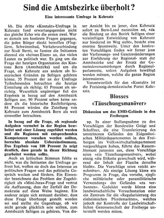 1969.03.18 - Der Bund - Amtsbezirke
