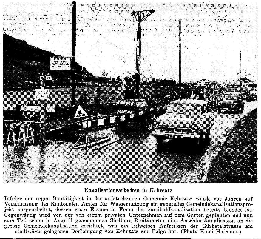 1960.01.12 - Der Bund - Kanalisationsarbeiten
