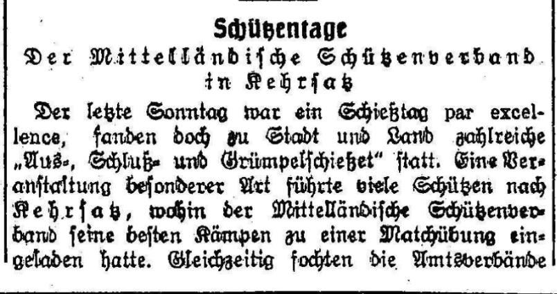 1925.10.08 - Der Bund - 1 Schützen