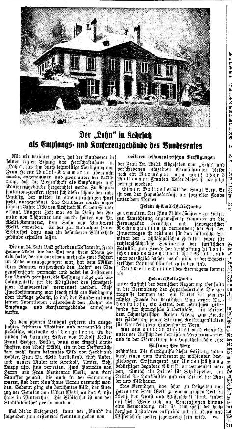 1942.11.29 - Der Bund - Lohn