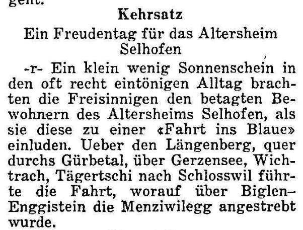 1967.08.15 - Der Bund - Ausflug Altersheim