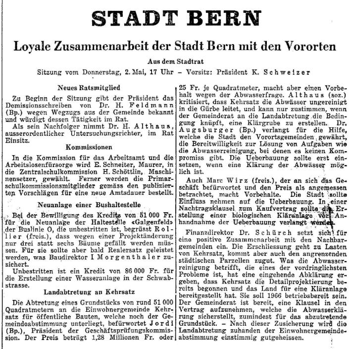 1963.05.08 - Der Bund - Abwasser