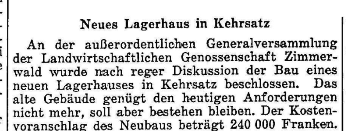 1958.02.06 - Der Bund - Lagerhaus
