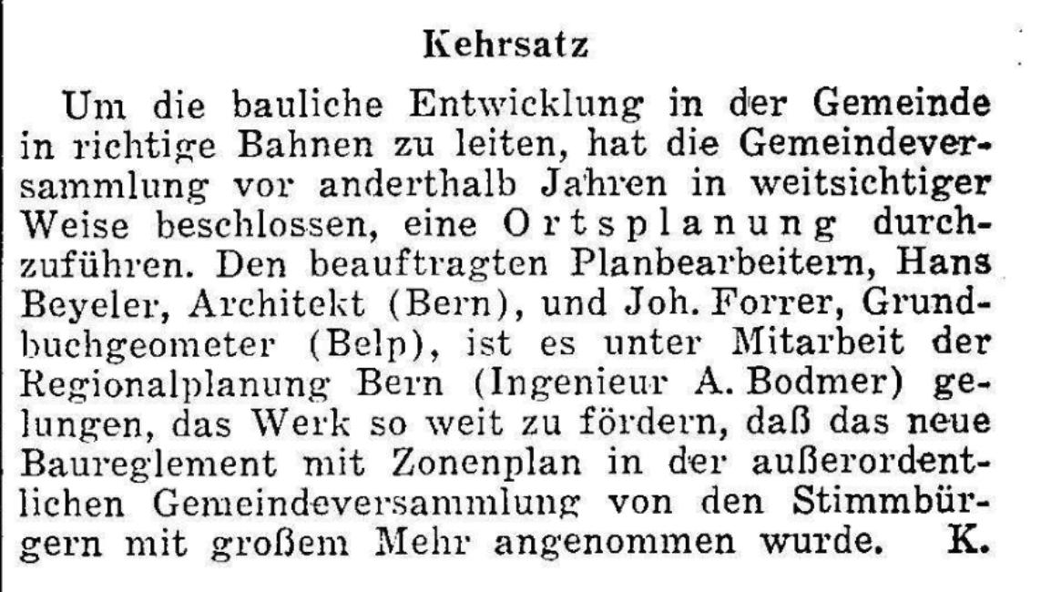 1952.11.14 - Der Bund - Bauen