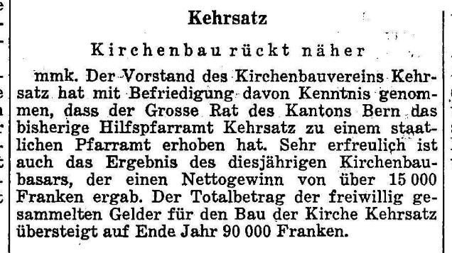 1966.12.08 - Der Bund - Kirche