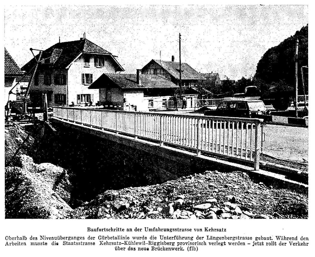 1968.12.11 - Der Bund - Umfahrungsstrasse Kehrsatz