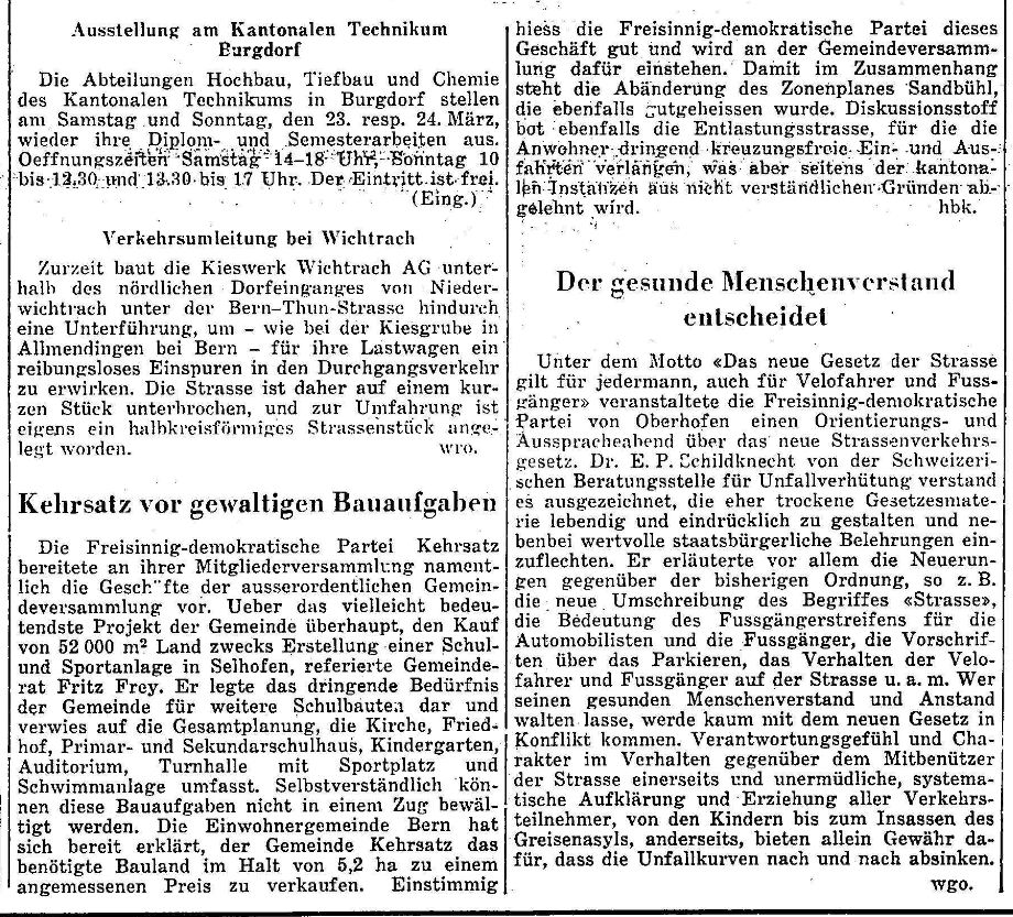 1963.03.22 - Der Bund - Bauaufgaben