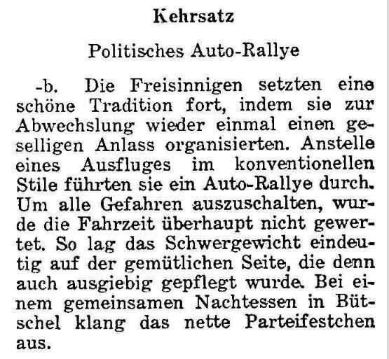 1967.10.09 - Der Bund - Autoralley