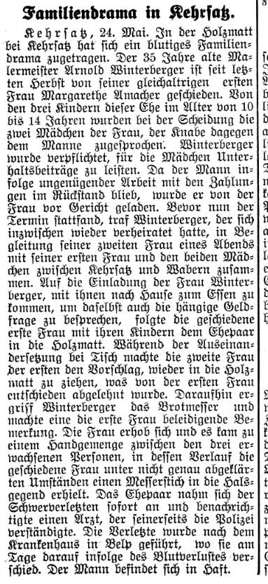 1939.05.25 - Oberländer Tagblatt - Familiendrama