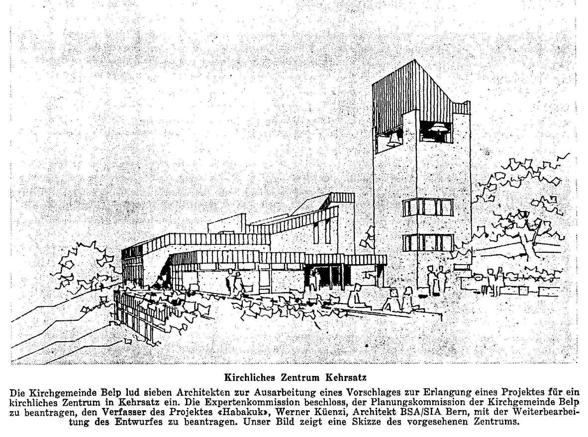 1968.11.29 - Der Bund - Kirche Kehrsatz