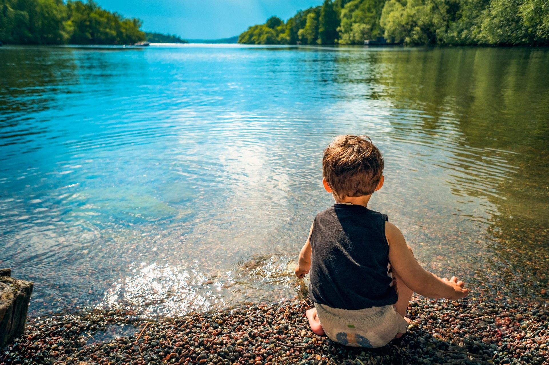 oder am See...