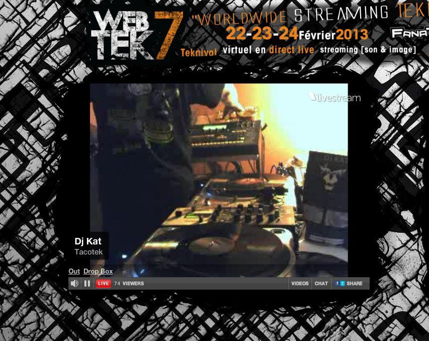 Dj Kat @ WebTek 7