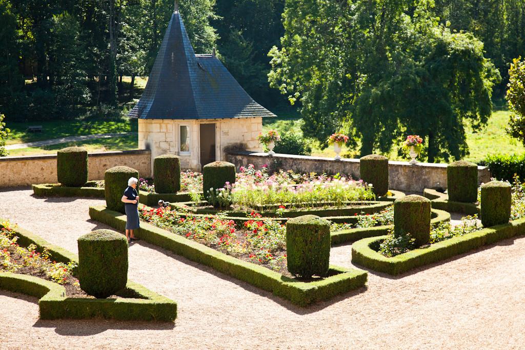 Parc du château de Courtanvaux à Bessé-sur-Braye - Vallées de la Braye et de l'Anille - Perche sarthois