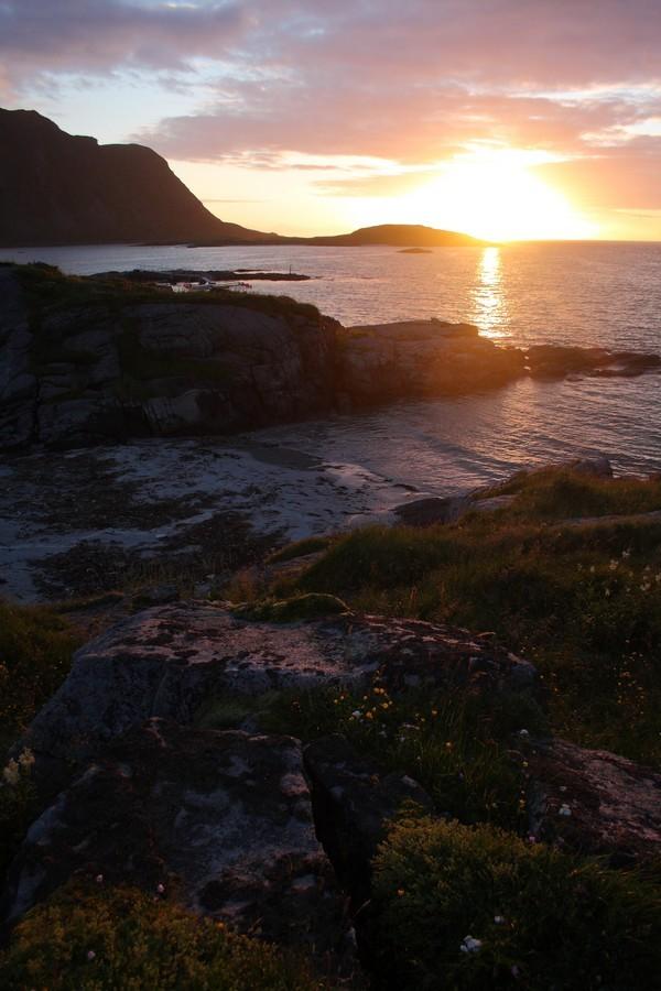 Soleil de Minuit en Norvège