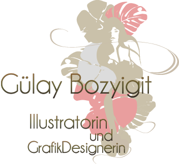 Fashionillustrationen , Grafik-Design ,Guelay Bozyigit aus Hamburg