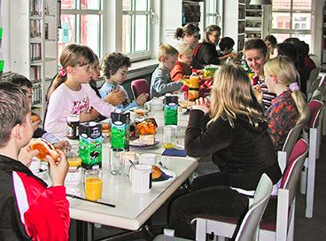Frühstück in Münchingen