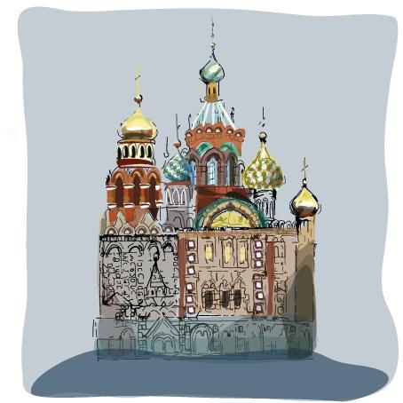 Ilustración para guía de viajes