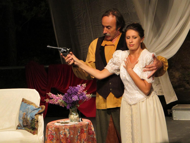 """Espectáculo """"El Oso"""", Festival de Teatro del Somontano"""