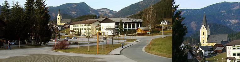 Parkplatz für 300 PKW beim Schulzentrum