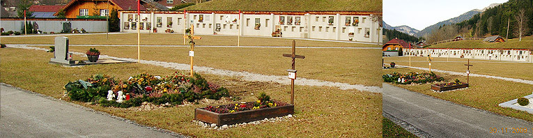 Errichtung eines neuen Friedhofs um 500.000 Euro