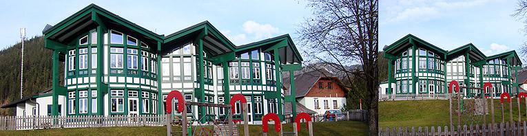 Bau des neuen Kindergartens