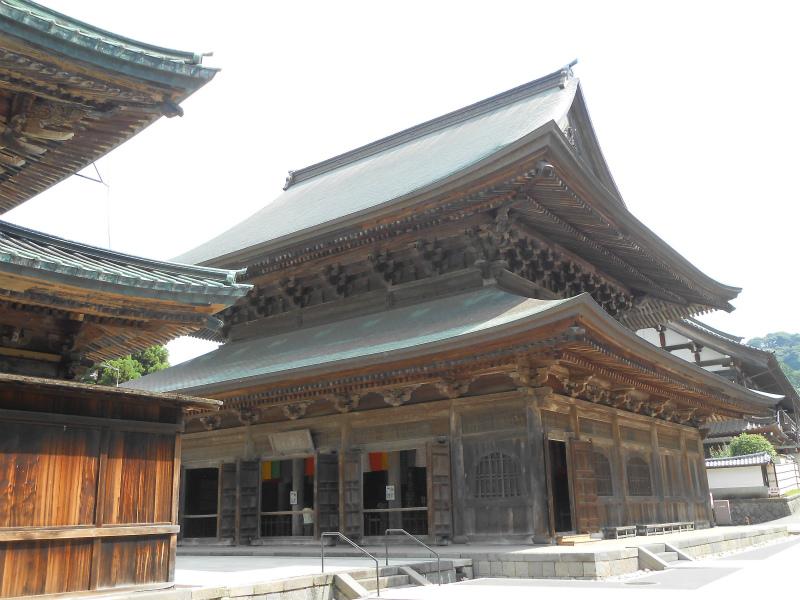 法堂 とにかく古い、1814年再建。木造建築では関東最大 重要文化財