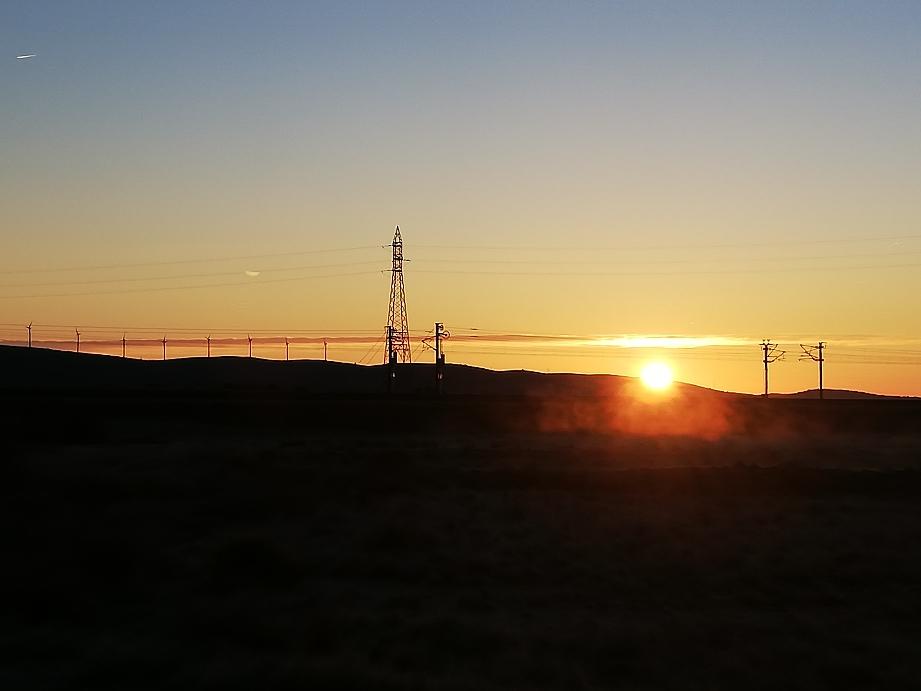 Sonnenaufgang  2°