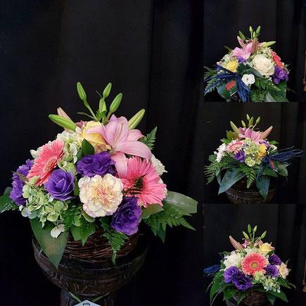 Centros de flores .