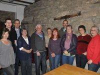 Die Gründungsmitglieder der NABU Gruppe Sinsheim