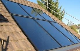 Solarthermie Indach Anlage von bern.solar
