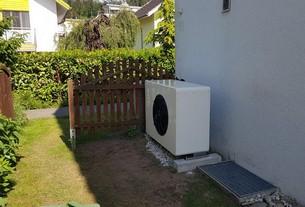 Referenz Luft-Wasser-Wärmepumpe in Heimberg von bern.solar