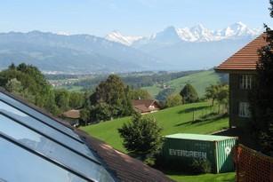 Solarthermie-Anlage von bern.solar in Burgistein