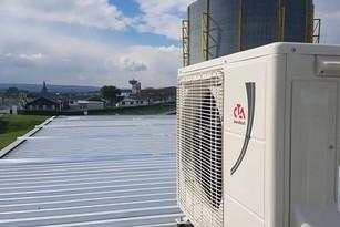Wärmepumpe und Heizungssystem von bern.solar
