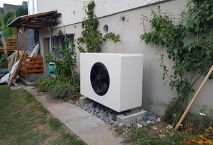 Referenz Luft-Wasser-Wärmepumpe in Belp von bern.solar