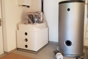 Luft-Wasser-Wärmepumpe Striega-Therm in Zollikofen von bern.solar