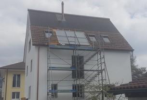 Solarthermie Anlage von bern.solar in Thun