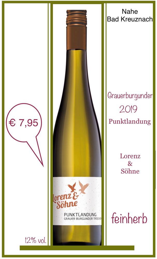 Grauerburgunder-Punktlandung/Lorenz&Söhne