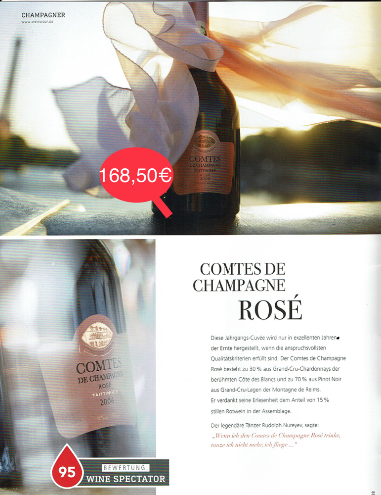 Comtés De Champagne- ROSÉ / Rarität & Schnäpschen
