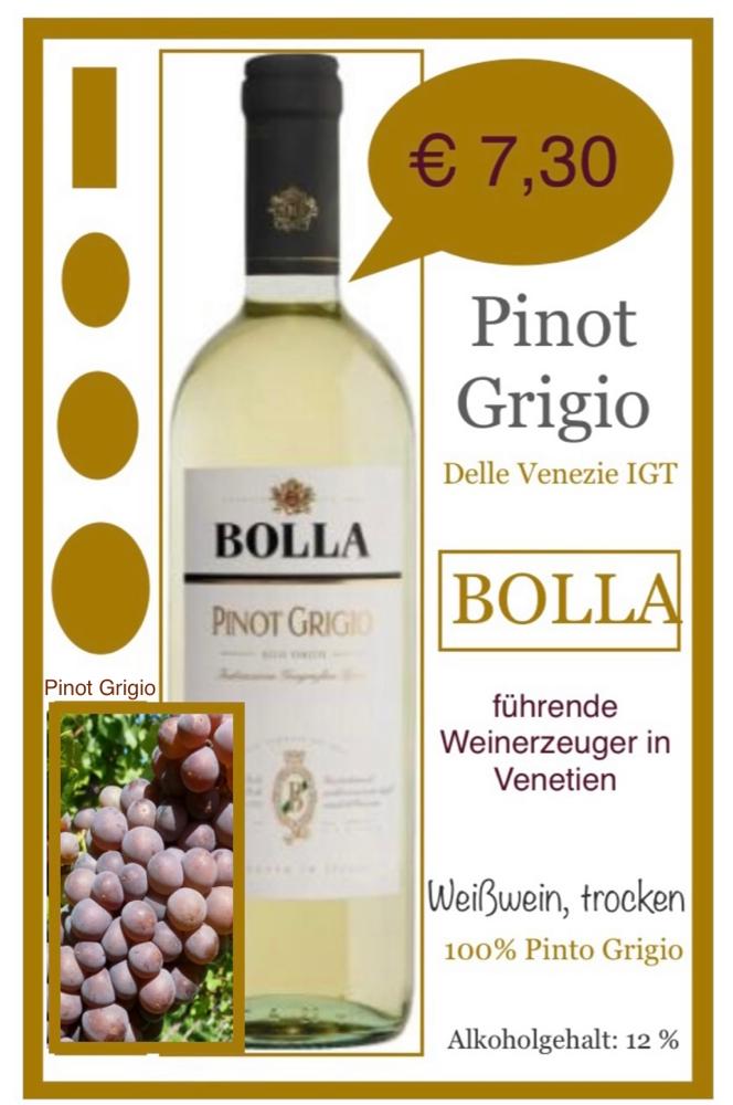 Pinto Grigio - BOLLA
