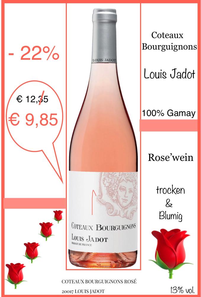 """Cotesux Bourgogne"" rose' / Louis Jadot"